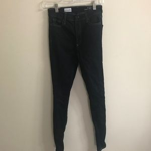 "GAP High Rise Skinny Jeans 25R-29"" inseam"